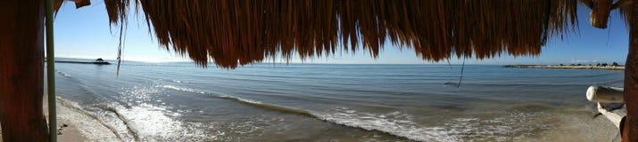 Mañana de la playa Imagen de archivo libre de regalías