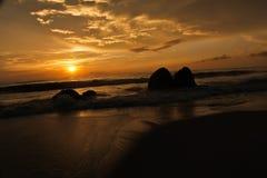 Mañana de la salida del sol Imagen de archivo libre de regalías