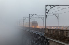 Mañana de niebla Fotografía de archivo