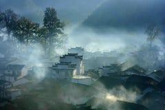 Mañana de Wuyuan imagenes de archivo