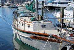Mañana del barco de vela Fotografía de archivo libre de regalías
