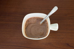 Mañana del cacao Foto de archivo libre de regalías