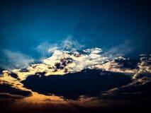 Mañana del cielo Foto de archivo libre de regalías