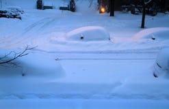 Mañana del invierno en Montreal Fotos de archivo