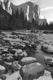 Mañana del invierno, Yosemite Imágenes de archivo libres de regalías