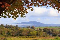 Mañana del otoño Fotografía de archivo
