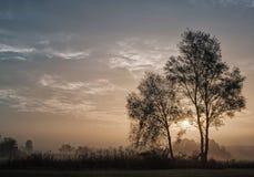 Mañana del otoño Imagen de archivo libre de regalías