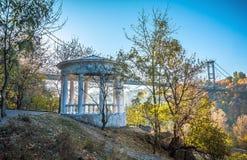 Mañana del otoño en el parque Imagenes de archivo