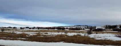 Mañana del ` s del invierno Fotos de archivo