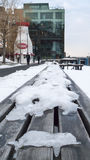 Mañana del sur helada de Boston Imagenes de archivo
