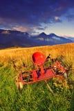 Mañana del verano en alto Tatras (Vysoké Tatry) Imagenes de archivo
