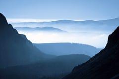 Mañana en alto Tatras fotos de archivo