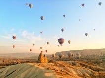 Mañana en Cappadocia imagen de archivo