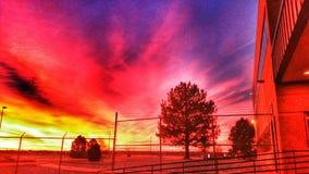 Mañana en colores pastel Foto de archivo