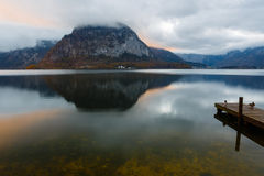 Mañana en el lago Foto de archivo