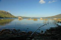 Mañana en el lago eagle Fotos de archivo libres de regalías