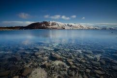 Mañana en el lago Tekapo Fotos de archivo libres de regalías