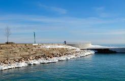 Mañana en el puerto de Diversey Fotografía de archivo libre de regalías