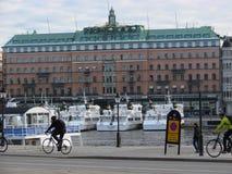 Mañana en Estocolmo Imagen de archivo