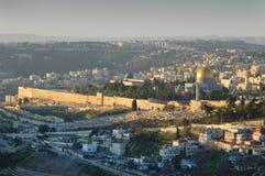 Mañana en Jerusalén Imagen de archivo libre de regalías