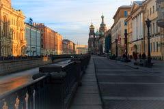 Mañana en la ciudad Foto de archivo libre de regalías