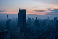 Mañana en la ciudad de Bangkok Fotos de archivo