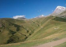 Mañana en las montañas fotos de archivo