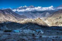 Mañana en las montañas Fotos de archivo libres de regalías