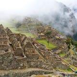 Mañana en Machu Picchu fotos de archivo libres de regalías