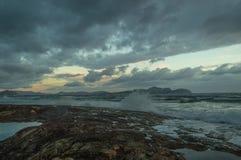 Mañana en Mallorca septentrional Fotos de archivo libres de regalías