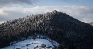 Mañana en montañas fotografía de archivo libre de regalías
