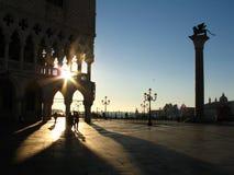 Mañana en Venecia fotografía de archivo