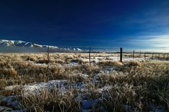 Mañana fría Imagen de archivo libre de regalías