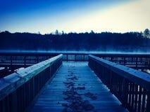 Mañana fría Fotografía de archivo libre de regalías