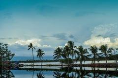 Mañana fresca del pueblo del sur de Kerala fotos de archivo