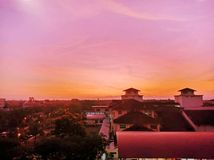 Mañana hermosa en Malasia imagen de archivo libre de regalías