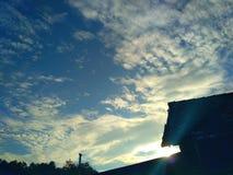 Mañana nublada Foto de archivo libre de regalías