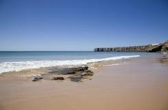 Mañana perfecta en la playa Foto de archivo libre de regalías