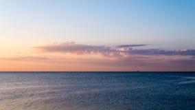 Mañana por el mar Imagenes de archivo