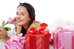 Mañana romántica Imagen de archivo libre de regalías