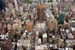 Mañana típica de Manhattan Imagen de archivo libre de regalías