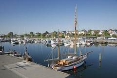 Mañana tranquila en el puerto deportivo Fotografía de archivo libre de regalías