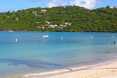 Mañana tranquila en la bahía de Magens en St Thomas Island, los E.E.U.U. VI fotografía de archivo libre de regalías