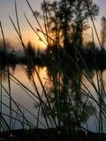 Mañana tranquila momentos antes de las subidas del sol fotos de archivo libres de regalías