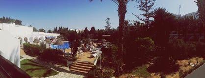 Mañana tunecina Imagen de archivo libre de regalías