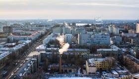 Mañana Voronezh Imagen de archivo libre de regalías