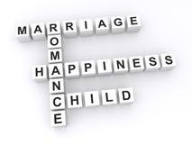 małżeństwa pojęcie Zdjęcia Stock