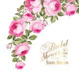 Małżeństwa zaproszenia karta Zdjęcie Stock
