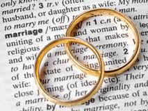 małżeństwo Zdjęcia Royalty Free