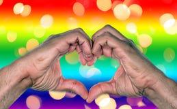 Małżeństwo homoseksualne Obrazy Stock